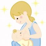 乳児期 目があいにくかった授乳時