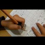 発達障害 自閉 鉛筆 練習