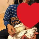 家族が増えました 三男誕生(^^)