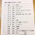 学校の用意・準備表 準備のスケジュールを整える(小2)